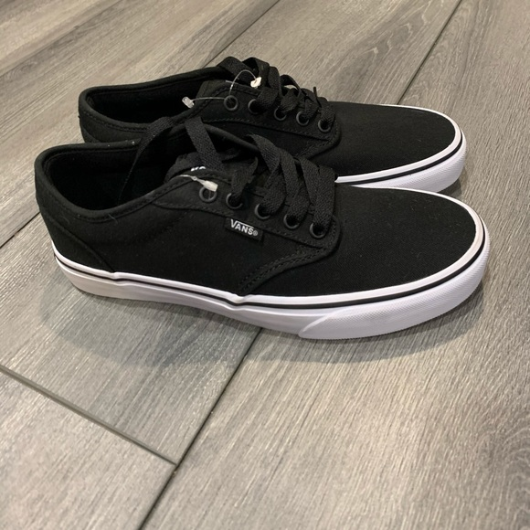 Vans Shoes   Black Atwood Trainers